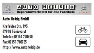 Auto-Heisig