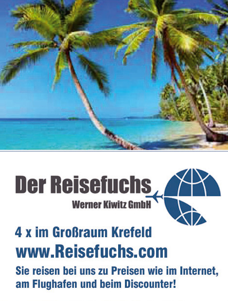Reisefuchs-Website