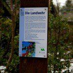 Informations-Stele zur historischen Landwehr